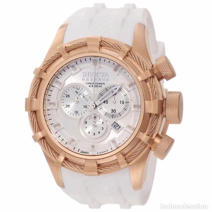 INVICTA RESERVE BOLT SPORT SWISS MADE QUARTZ CHRONO WHITE 50M/M (Relojes - Relojes Actuales - Otros)