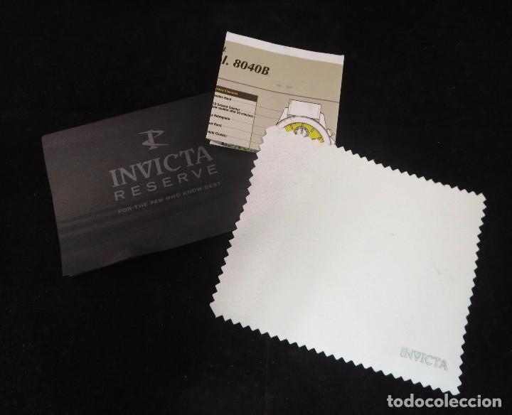 Relojes: Invicta Reserve Bolt Sport Swiss Made Quartz Chrono White 50m/m - Foto 5 - 142759341