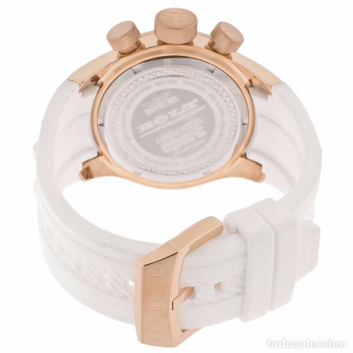 Relojes: Invicta Reserve Bolt Sport Swiss Made Quartz Chrono White 50m/m - Foto 8 - 142759341