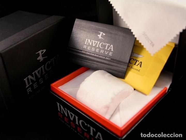 Relojes: Invicta Reserve Bolt Sport Swiss Made Quartz Chrono White 50m/m - Foto 10 - 142759341