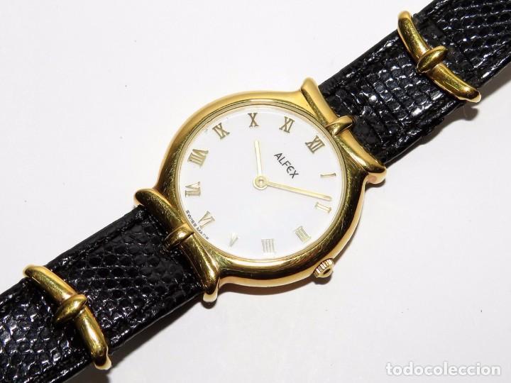 ALFEX SUIZO DE CUARZO (Relojes - Relojes Actuales - Otros)