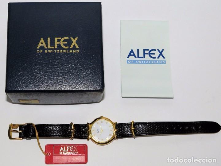 Relojes: ALFEX SUIZO DE CUARZO - Foto 2 - 86155620