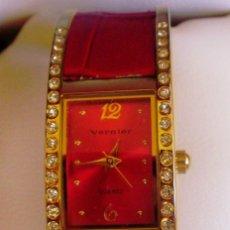 Relojes: RELOJ QUARTZ PARA SEÑORA MARCA VERNIER. Lote 86764052