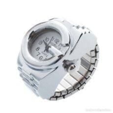 Relojes: PRECIOSO Y LUJOSO RELOJ ANILLO DE ALEACION DE PLATA - Nº2. Lote 86802720