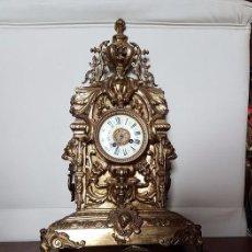 Relojes: MECÁNICO - 8 DÍAS DE FUNCIONAMIENTO - SUENA CAMPANA CADA MEDIA HORA. Lote 88115480