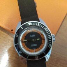 Relojes: RELOJ SEÑORA DE CUERDA (VINTAGE) CONTROL DE ACERO CON CALENDARIO 17 RUBÍS CON MAQUINARIA SUIZA INCA. Lote 88361968