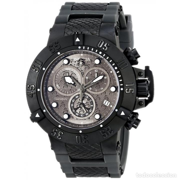 Relojes: Invicta Subaqua Swiss Made Quartz Chronograph Grey Black Dial $1995 impermeable 500 metros - Foto 1 - 88498772
