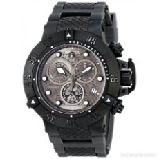 Relojes: INVICTA SUBAQUA SWISS MADE QUARTZ CHRONOGRAPH GREY BLACK DIAL $1995 IMPERMEABLE 500 METROS. Lote 88498772