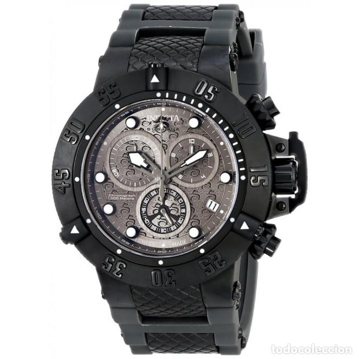 Relojes: Invicta Subaqua Swiss Made Quartz Chronograph Grey Black Dial $1995 impermeable 500 metros - Foto 6 - 88498772