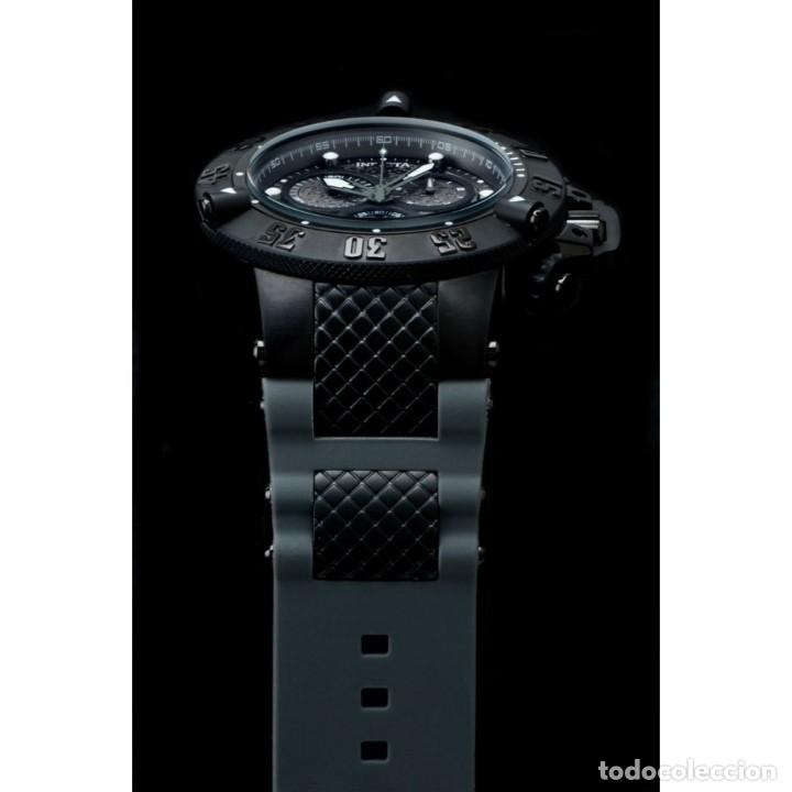 Relojes: Invicta Subaqua Swiss Made Quartz Chronograph Grey Black Dial $1995 impermeable 500 metros - Foto 7 - 88498772