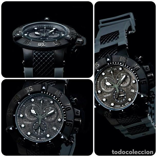 Relojes: Invicta Subaqua Swiss Made Quartz Chronograph Grey Black Dial $1995 impermeable 500 metros - Foto 8 - 88498772