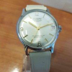 Relojes - Reloj cadete de cuerda (Vintage) Control de acero con calendario 17 rubís con calendario Suizo - 88797992