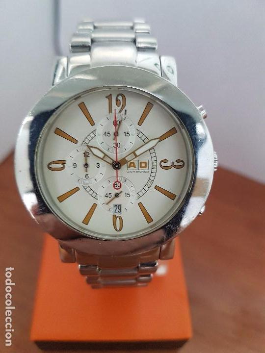Reloj de caballero adolfo dominguez cuarzo cron comprar for Reloj adolfo dominguez 95001