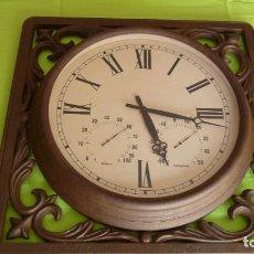 Relojes: RELOJ DE PARED EN FORJA. Lote 88855052