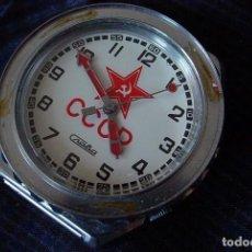 Relojes: RELOJ RUSO SLAVA CUARZO, ÉPOCA SOVIETICA. Lote 93166959