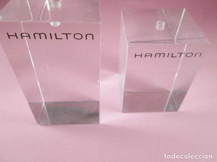 Relojes: lote 2 soportes-reloj hamilton-nuevos-distintos tamaños-ver fotos - Foto 4 - 89064548