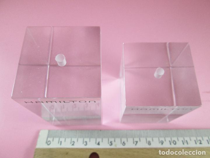 Relojes: lote 2 soportes-reloj hamilton-nuevos-distintos tamaños-ver fotos - Foto 9 - 89064548