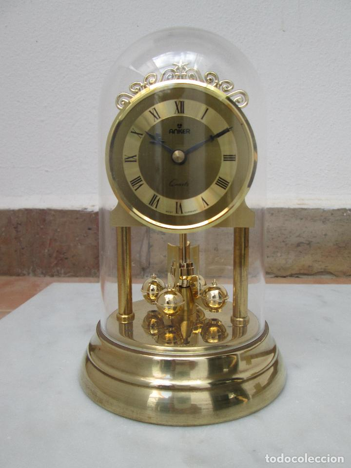 RELOJ DE CUPULA ANKER QUARTZ, WEST- GERMANY. (Relojes - Relojes Actuales - Otros)