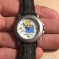 Relojes: A-25 / RELOJ MAGGIE SIMPSONS (SIMPSONS) 1999 - NO SE SABE SI FUNCIONA. Lote 89983556