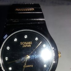 Relojes: ANTIGUO RELOJ SONAKI JAPAN QUARTZ DE SEÑORA. Lote 90054014