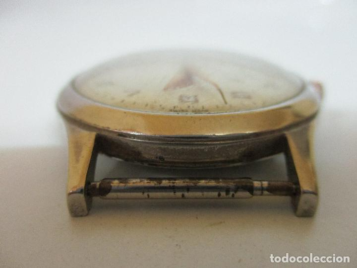 Relojes: Antiguo Reloj de Pulsera - a Cuerda - Marca Eden Antimagnetic - Swiss Made - Funciona - Años 50 - Foto 2 - 90333212