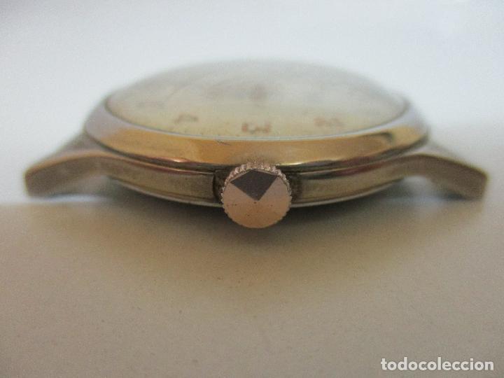 Relojes: Antiguo Reloj de Pulsera - a Cuerda - Marca Eden Antimagnetic - Swiss Made - Funciona - Años 50 - Foto 3 - 90333212