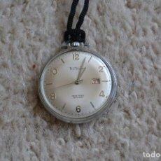 Relojes: RELOJ DE BOLSILLO THERMIDOR ANCRE 17 RUBIS ANTICHOC FUNCIONA. Lote 89923016