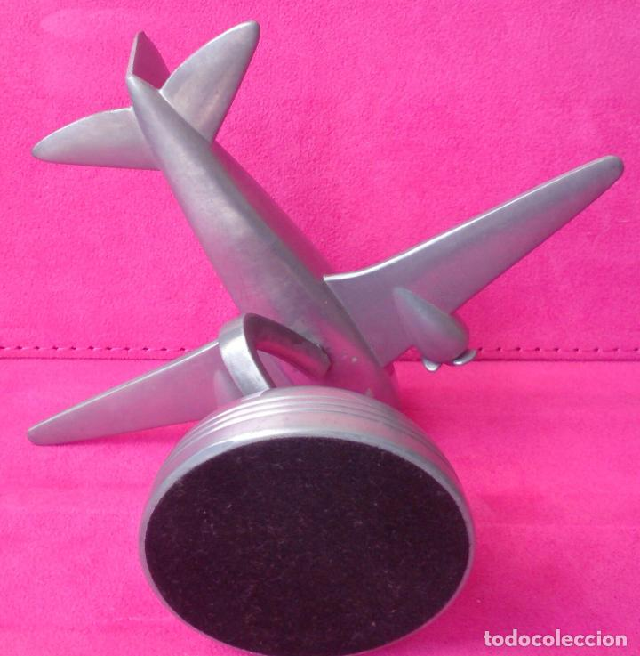Relojes: Figura avión giratorio Fossil espíritu St.Louis Art Deco - Foto 2 - 91635925