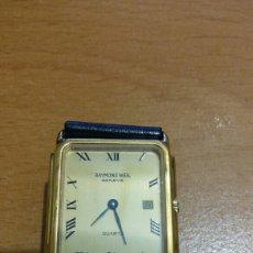 Relojes: RELOJ BAÑO DE ORO 18K RAYMOND WEIL GENEVE. QUARZ. Lote 91706774