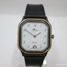 Relojes: RELOJ VINTAGE LOTUS - FUNCIONA 29 MM SIN CONTAR CORONA. Lote 92016415