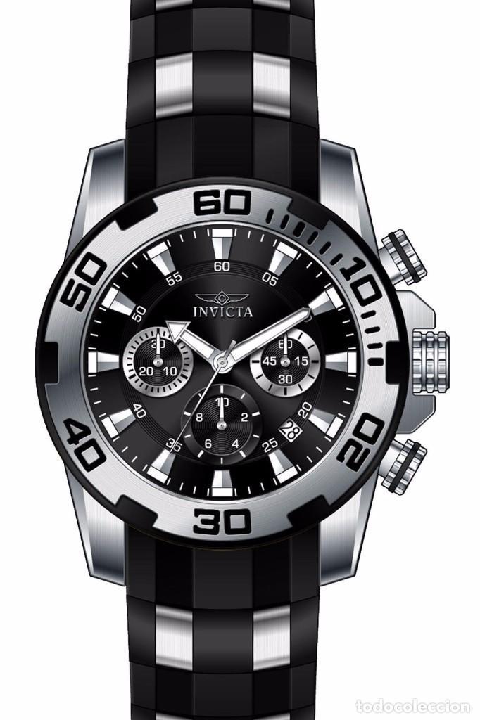 Relojes: Invicta Pro Diver Scuba Cuarzo Cronógrafo Fecha 50m/m - Foto 2 - 92098420