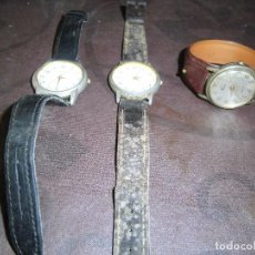 Relojes: RELOJES DE PULSERA ANTIGUOS DE CABALLERO. Lote 92140710