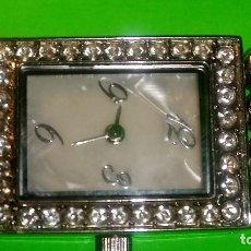 Relojes: RELOJ DE SEÑORA. FUNCIONANDO. BUEN ESTADO. ESFERA NACAR. FOTOS EN DESCRIPCION. Lote 94481502