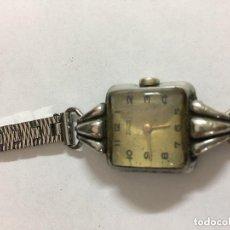 Relojes: RELOJ DE SEÑORA TORMES ,CIRCLA 1950 MECANICO FUNCIONA,PULSERA CHAR MCM. Lote 95203695