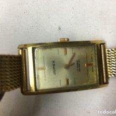 Relógios: RELOJ MECANICO SUIZO AÑO CIRCLA 50 17 RUBIS CHAPADO EN ORO. Lote 95214031