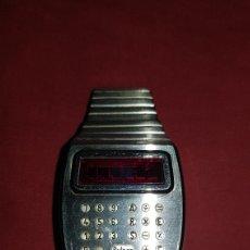 Relojes: ESPECTACULAR RELOJ LED DIGITAL PULSAR . EL PRIMER CALCULADORA DEL MUNDO . TIME COMPUTER USA .AÑOS 70. Lote 95328218