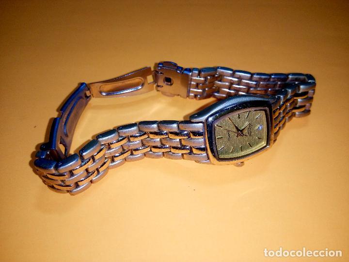 Relojes: RELOJ DE PULSERA DE SEÑORA. PILA AGOSTO 2.019. ELEGANTE. FUNCIONANDO. DESCRIP. Y FOTOS. - Foto 4 - 95332387