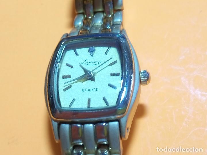 Relojes: RELOJ DE PULSERA DE SEÑORA. PILA AGOSTO 2.019. ELEGANTE. FUNCIONANDO. DESCRIP. Y FOTOS. - Foto 7 - 95332387