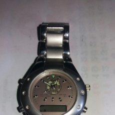 Relojes: RELOJ DE CABALLERO G. BODY DOBLE HORA. Lote 96937667