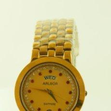 Relojes: ARLBOR DE DAMA A ESTRENAR QUARTZ CON PILA NUEVA. Lote 97070199