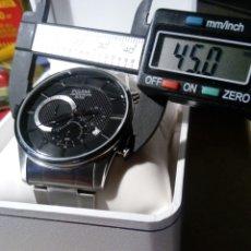 Relojes: PULSAR TIPO AVIADOR CRONOGRAPH NUEVO GRAN TAMAÑO. Lote 97335531