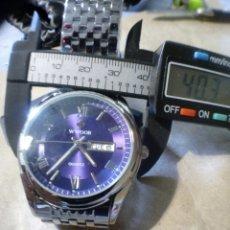 Relojes: WWOOR DATE-DAY BUEN TAMAÑO.EXCELENTE RELOJ DE CUARZO HECHO EN CHINA, MAXIMA CALIDAD NUEVO. Lote 97339474