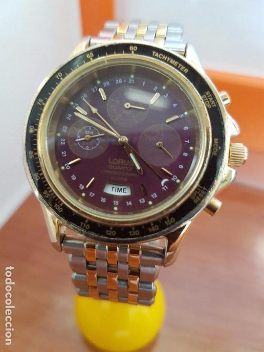 ea47a2ce4c4a Relojes  Reloj caballero (Vintage) LORUS de cuarzo