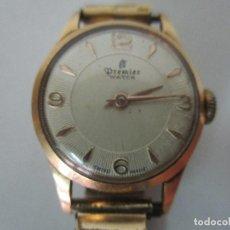 Relojes: RELOJ DE PULSERA - SEÑORA - MARCA PREMIER - ORO 18 K - FUNCIONA. Lote 97987831