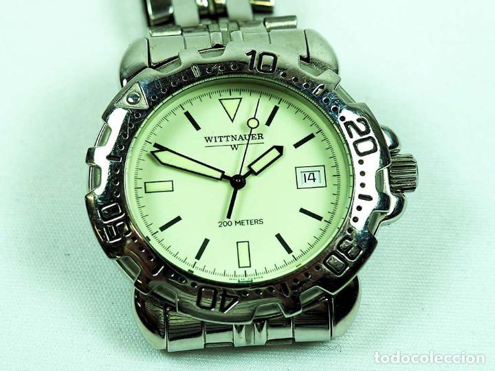 69563b42a301 wittnauer-raro-200 metros sumergible quarzt hom - Comprar Relojes ...