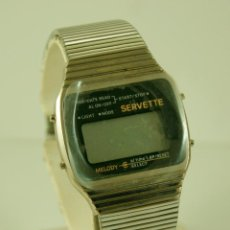 Relojes: SERVETTE MELODY DIGITAL AÑOS 70/80 NOS NEW OLD STOCK. Lote 98192203