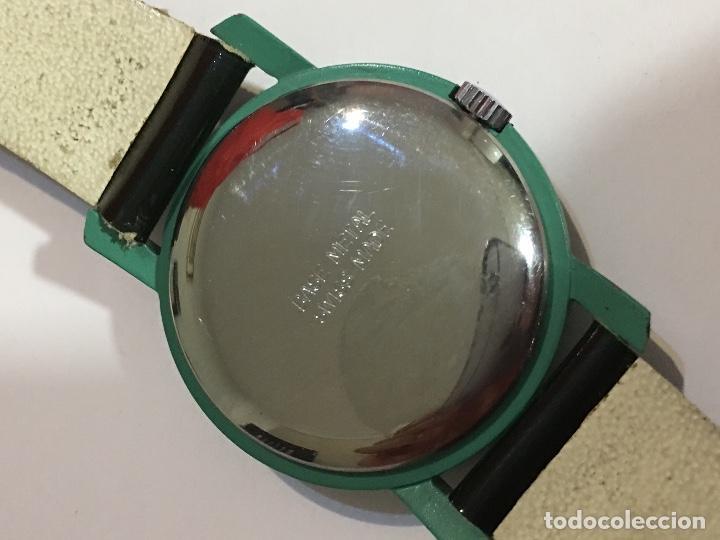 Relojes: Reloj mujer carga manual verde - Foto 3 - 186442972