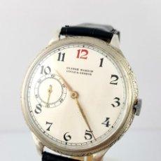 Relojes: ULYSSE NARDYN PLATA-ACERO VINTAGE C.1935-40. Lote 98660315