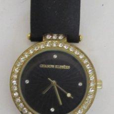 Relojes: RELOJ DE MUJER CHAMPS ELYSÈES CON ZIRCONITAS. Lote 99154679
