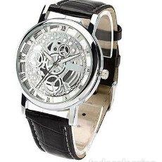 Relojes: RELOJ HOMBRE MAQUINARIA COLOR NEGRO. Lote 99310687